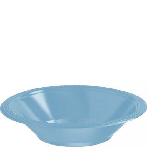 Caribbean Blue Plastic Bowls 355ml 20 per pack.