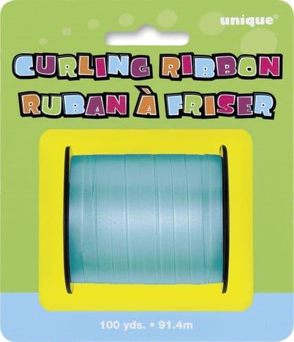 Caribbean Teal Curling Ribbon 100 Yds