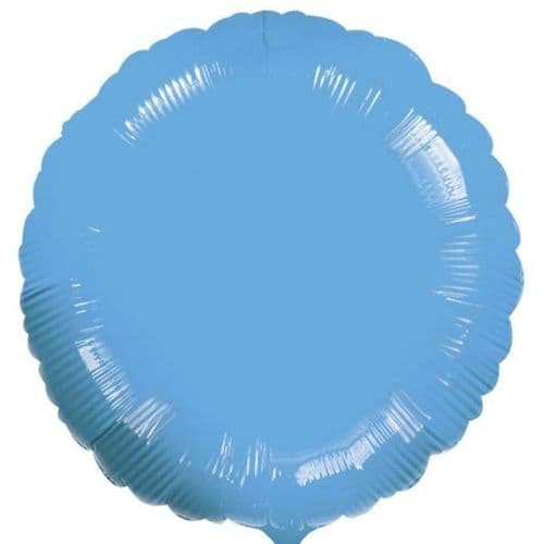 Circle Turquoise Foil Balloon