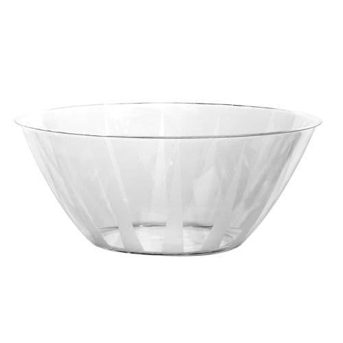 Clear Plastic Large Serving Bowl 160floz