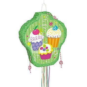 Cupcake Party Pop-Out Pinata