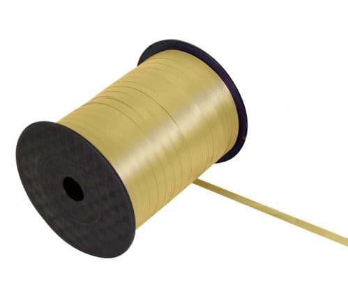 Curling Ribbon Gold 5mm x 500m