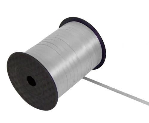 Curling Ribbon Silver 5mm x 500m