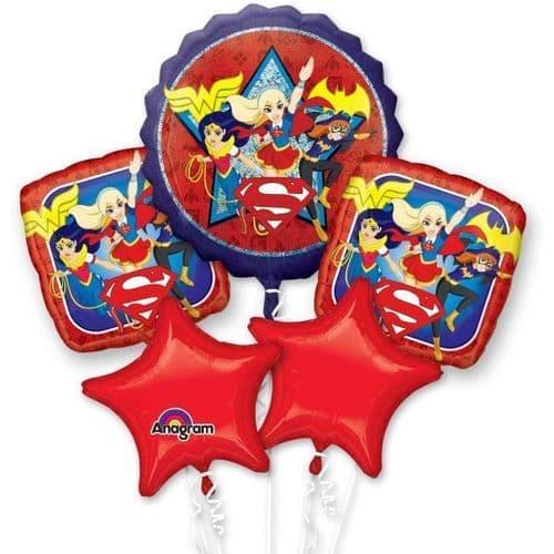 DC Super Hero Girls Bouquet Foil Balloons P75