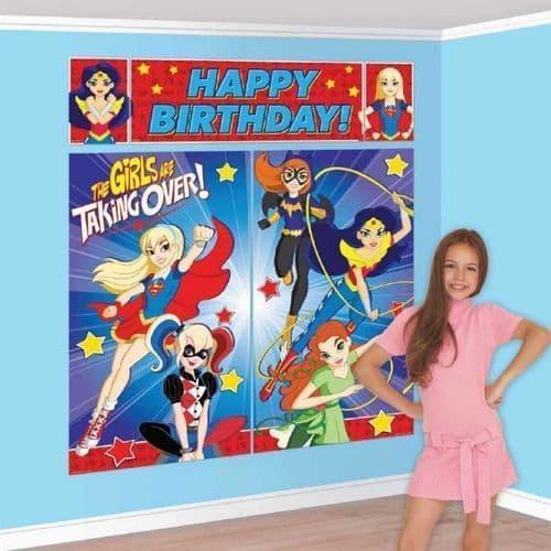 DC Super Hero Girls Happy Birthday Standard Foil Balloons