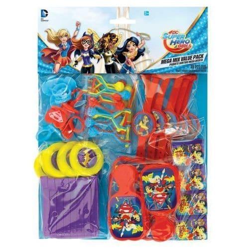 DC Super Hero Girls Mega Mix Value Favour Packs  48's