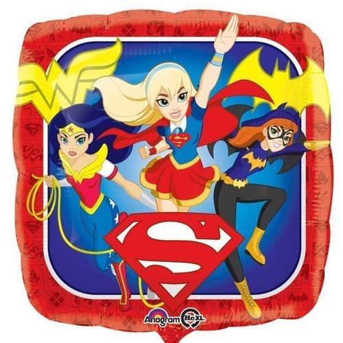 DC Super Hero Girls Standard Foil Balloons