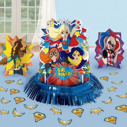 DC Super Hero Girls Table Decoration Kits