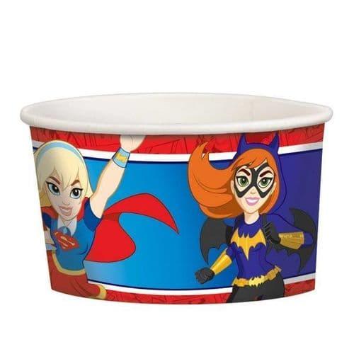 DC Super Hero Girls Treat Cups 8's