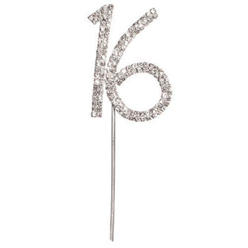 Diamante 16 on Silver Stem