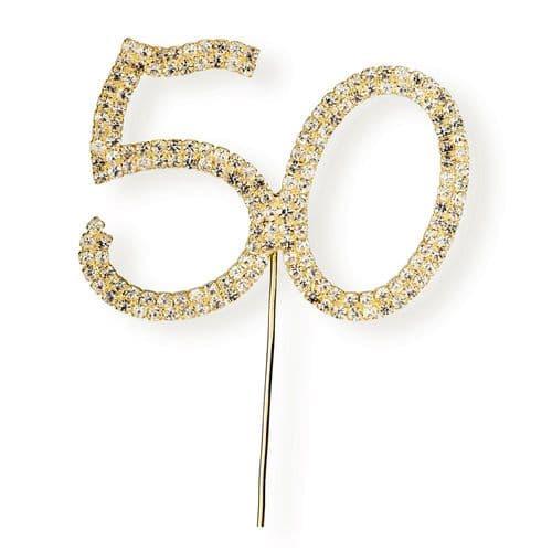 Diamante 50 on Gold Stem