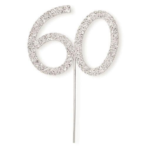 Diamante 60 on Silver Stem