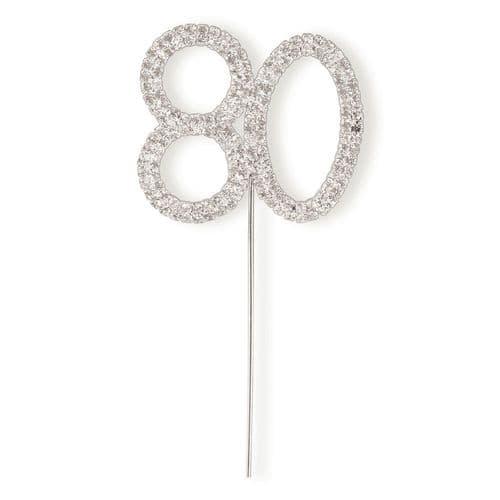 Diamante 80 on Silver Stem