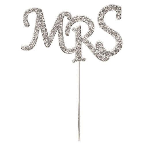 "Diamante ""MRS"" on Silver Stem"