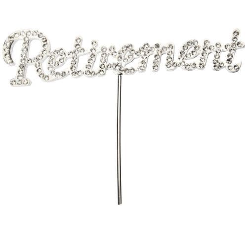 Diamante Retirement on Silver Stem