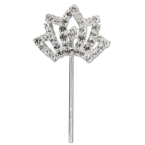 Diamond Tiara on Stem
