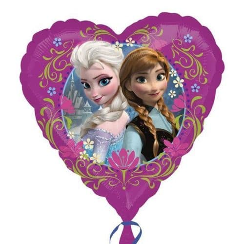 Disney Frozen Love Standard Heart Foil Balloons