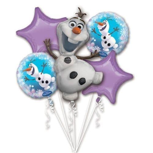Disney Frozen Olaf Foil Balloon Bouquets