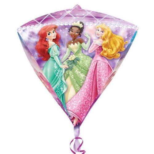 """Disney Princess Diamondz Foil balloon 15"""" x 17"""""""
