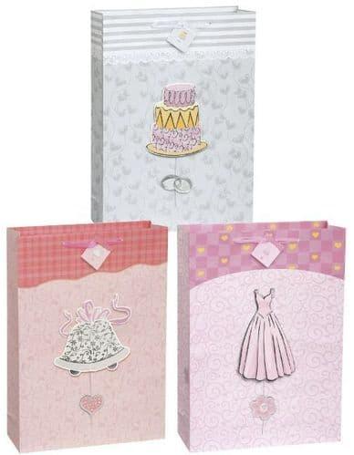 Fancy Wedding Giftbag Assorted-Jumbo