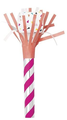 Fringed Party Blowouts 6 per pack