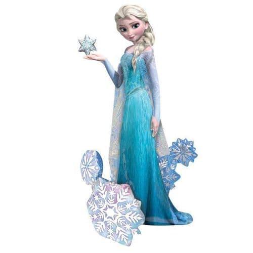 """Frozen AirWalkers Elsa the Snow Queen Foil Balloons  35"""" x 57"""""""
