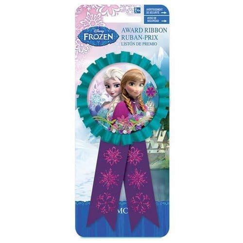 Frozen Confetti Award Ribbon  - 15cm x 7.6cm