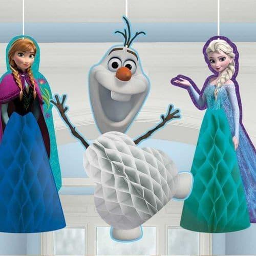 Frozen Honeycomb Decorations 3's