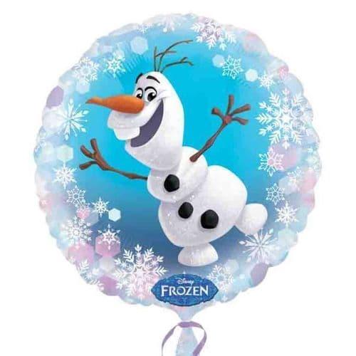 Frozen Olaf  Standard Foil Balloons