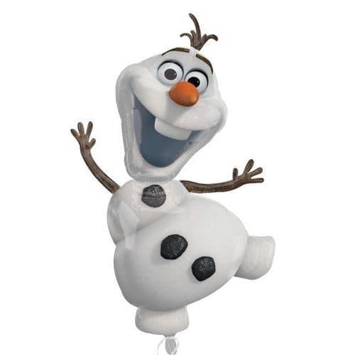 "Frozen Olaf SuperShape Foil Balloon 23"" x 41"""