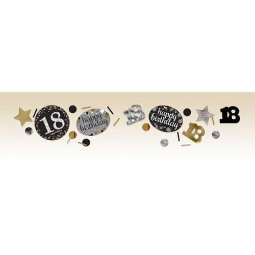 Gold Celebration 18th Confetti 34g