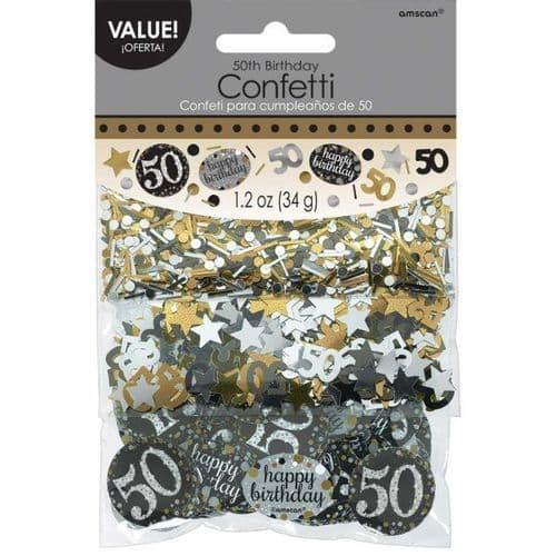 Gold Celebration 50th Confetti 34g