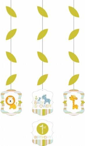Happi Jungle Hanging Cutouts 3 per pack