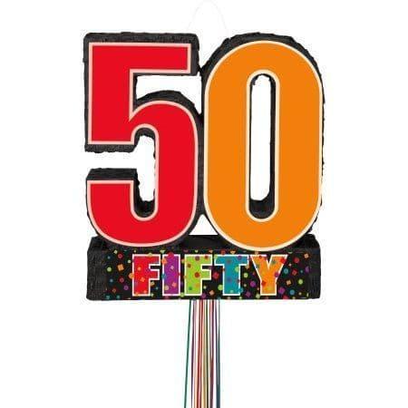 Happy Birthday Cheer Pull Pinata-50