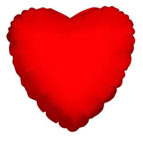Heart Red Foil Balloon