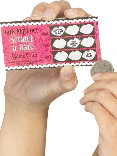 Hen Night Dare Scratch Cards, 6