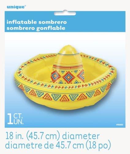 """Inflatable Sombrero 19"""""""