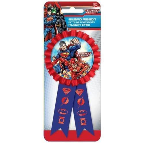 Justice League Confetti Award Ribbons