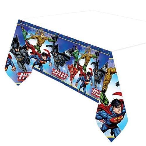 Justice League Plastic tablecover 1.2m x 1.8m