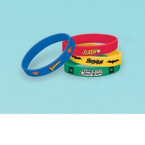 Justice League Rubber Bracelets 4's