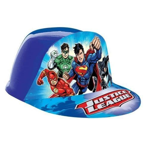 Justice League Vac Formed Hats