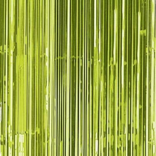 Kiwi Green Door Curtain 91cm x 2.43m