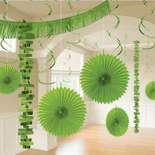 Kiwi Green Room Decoration Kit/18