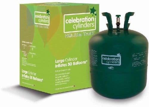 Large Helium Gas Disposable Cylinder