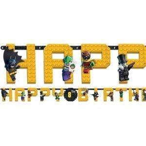 LEGO Batman Movie Add an Age Letter Banner 3.2m x 25cm -