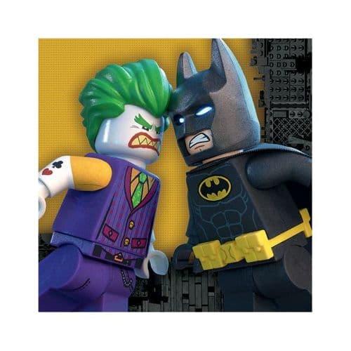 LEGO Batman Movie Luncheon Napkins 33cm /16