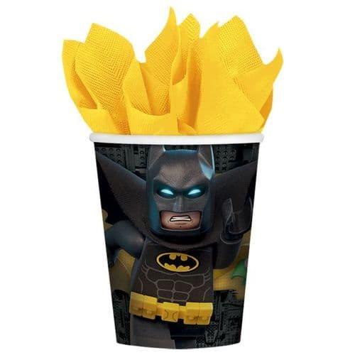 LEGO Batman Movie Paper Cups 266ml 8's