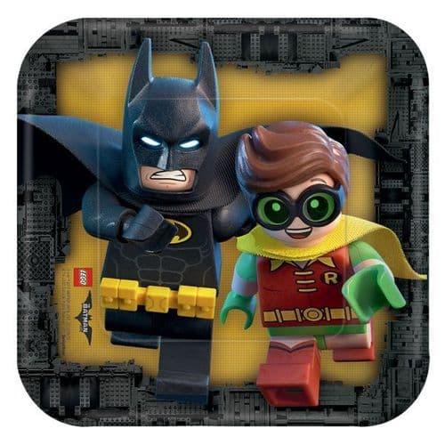 LEGO Batman Movie Paper Plates 18cm 8's