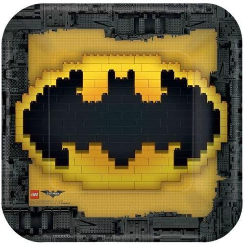 LEGO Batman Movie Paper Plates 23cm 8's