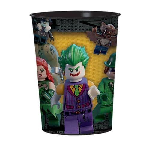 LEGO Batman Movie Plastic Favour Cups 455ml